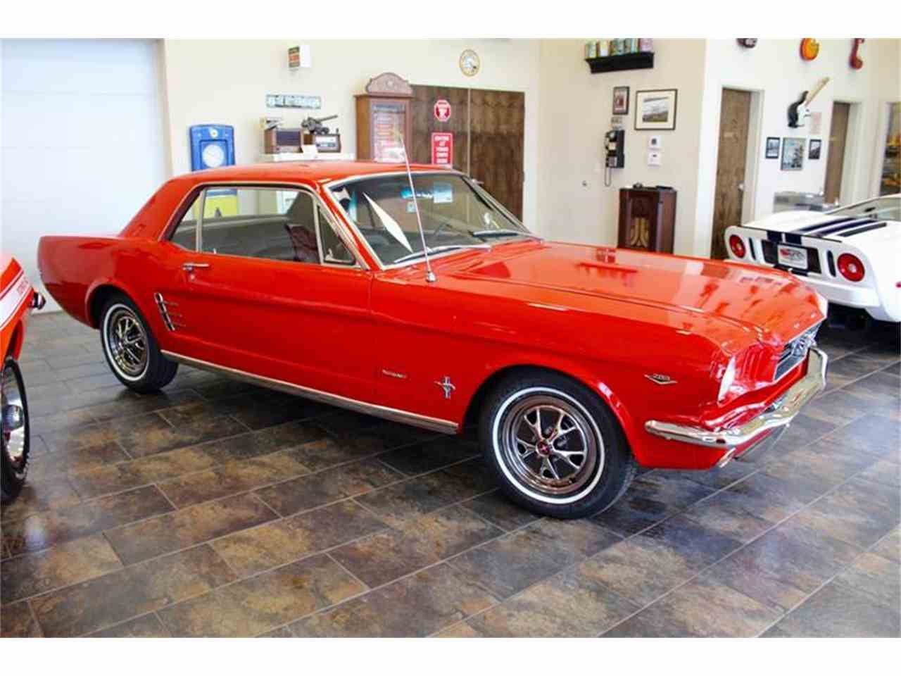 1966 ford mustang for sale cc 905263. Black Bedroom Furniture Sets. Home Design Ideas