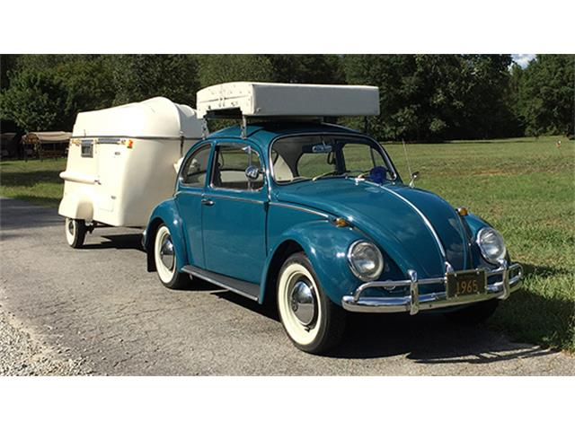 1965 Volkswagen Beetle Coupe with Camping Accessories | 905317