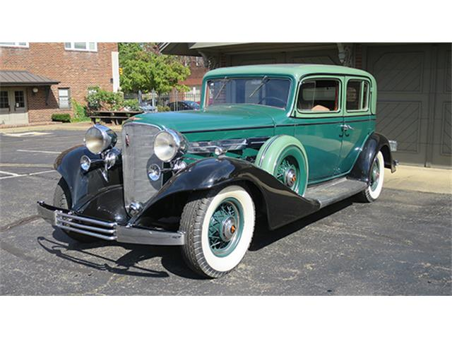 1933 Cadillac 370C V-12 Five-Passenger Town Sedan | 905325