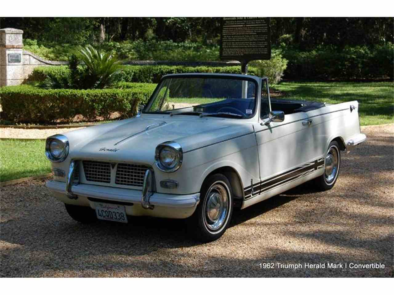 1962 triumph herald for sale cc 906399. Black Bedroom Furniture Sets. Home Design Ideas