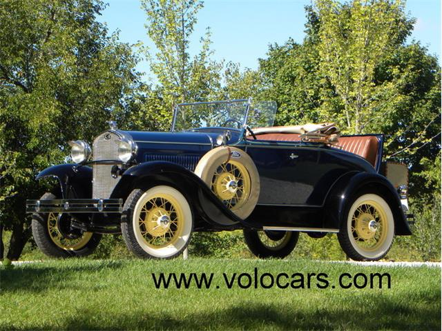 1931 Ford Model A Deluxe Roadster | 906427