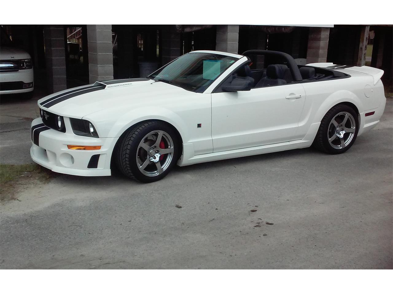 2007 ford mustang roush for sale cc. Black Bedroom Furniture Sets. Home Design Ideas