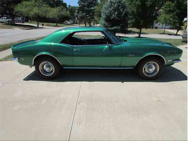 1966 To 1968 Chevrolet Camaro Ss For Sale On Classiccars