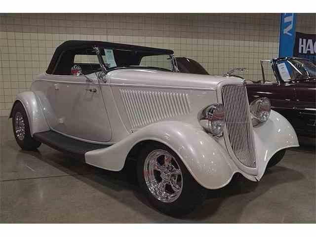 1934 Ford Cabriolet Custom Hot Rod Roadster | 906657