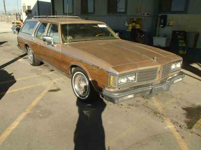 1985 Oldsmobile CUSTOM CRUISER WAGON | 900671