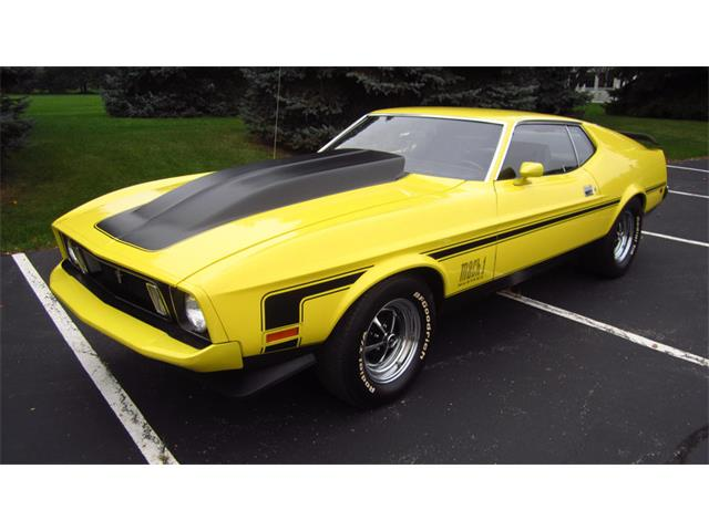 1973 Ford Mustang Mach 1 | 906726