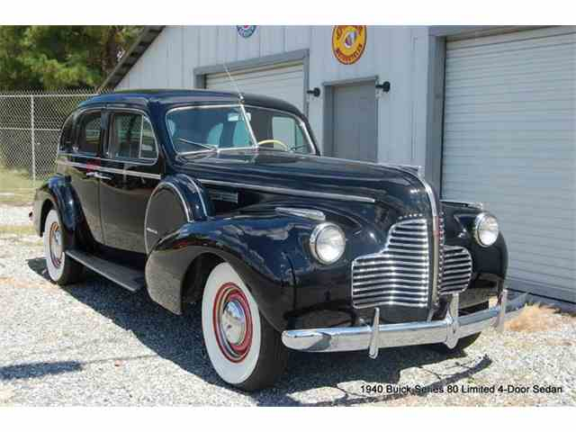 1940 Buick Limited Series 80 Formal Sedan | 906845