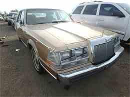 1986 Lincoln Continental for Sale - CC-900688