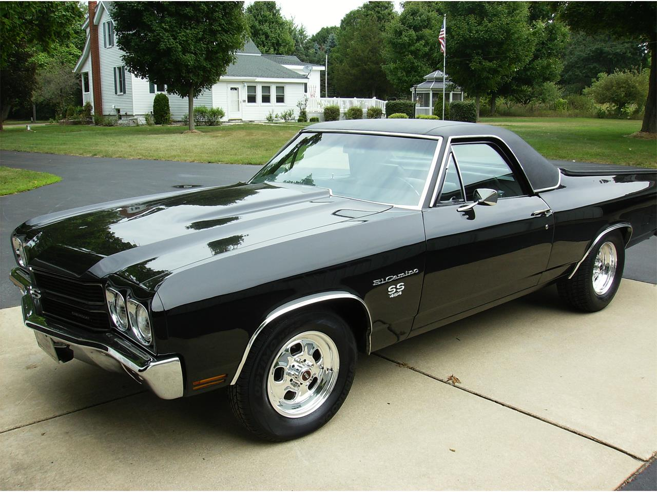 1970 Chevrolet El Camino Ss For Sale Classiccars Com