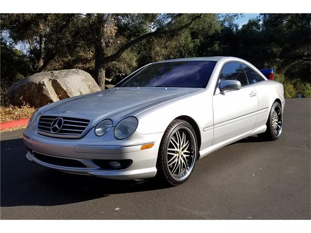 2001 Mercedes-Benz CL500   907277