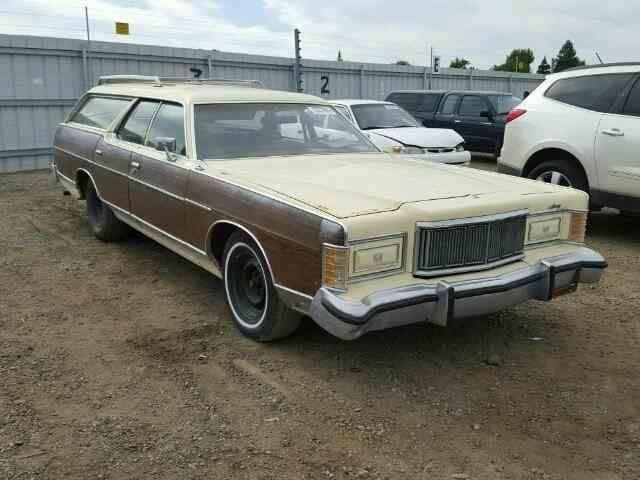 1977 Mercury MARQUIS COLONY PARK | 900769