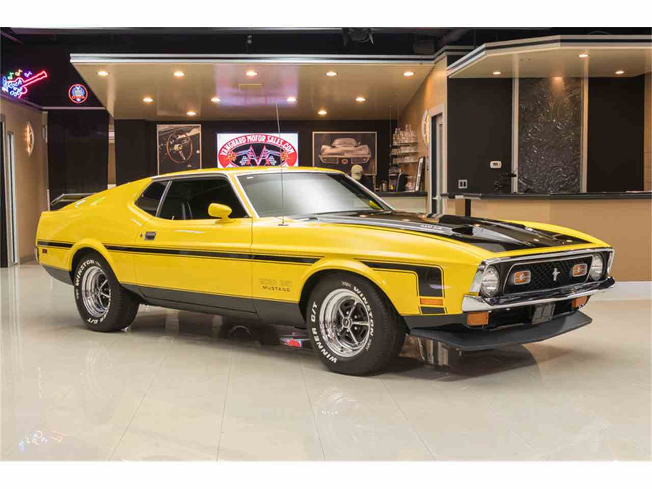 1972 ford mustang boss 351 recreation for sale cc 907692. Black Bedroom Furniture Sets. Home Design Ideas