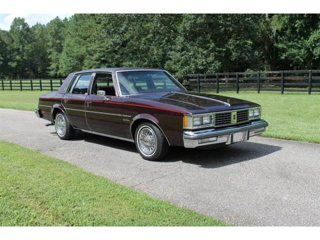 1987 Oldsmobile Cutlass 4 dr HT | 907947