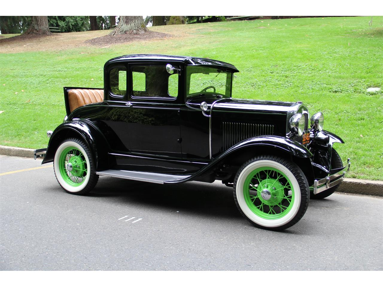 1931 Ford Model A Rumble Seat Coupe  Gorgeous  See Video