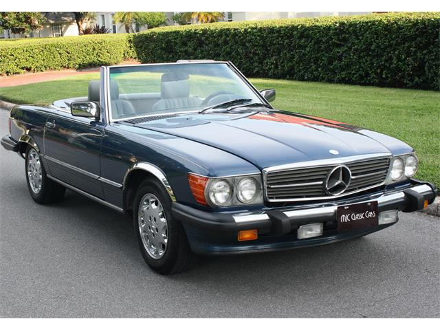 1986 Mercedes-Benz 560SL | 908000