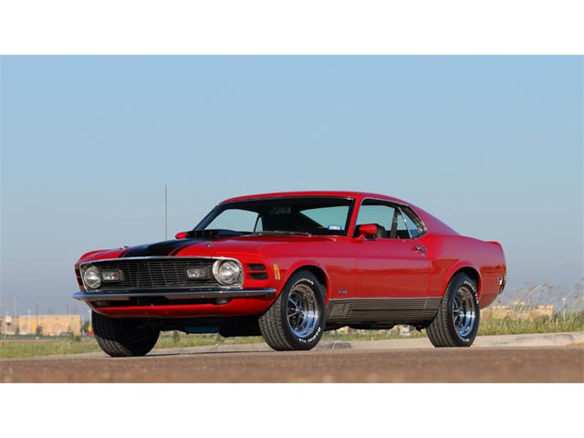 1970 Ford Mustang Mach 1   908053