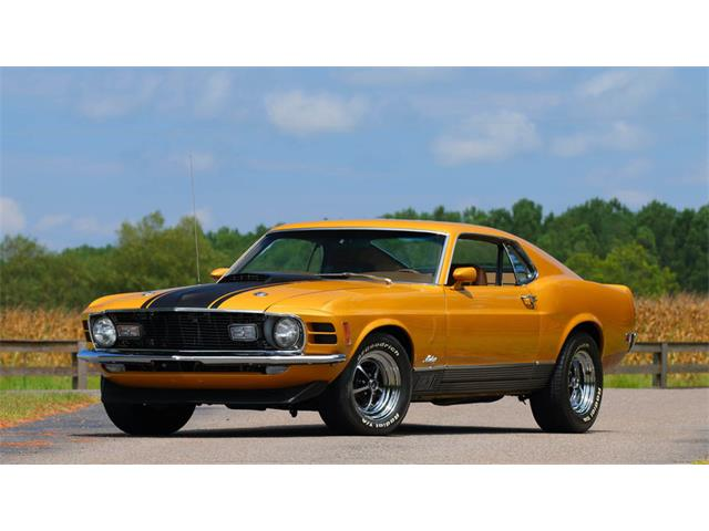 1970 Ford Mustang Mach 1   908072