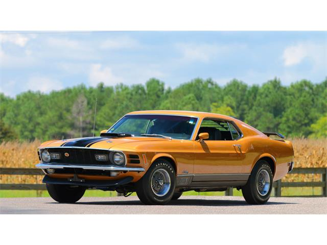 1970 Ford Mustang Mach 1   908073