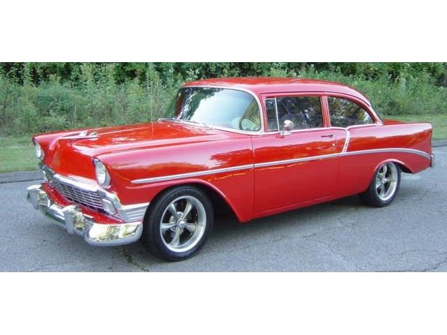 1956 Chevrolet 2-Dr Post | 908209