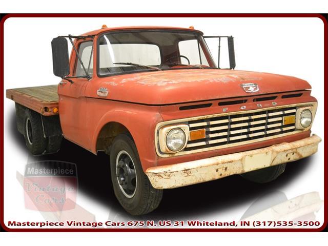 1963 Ford 350 Standard Cab Flatbead Truck   908403