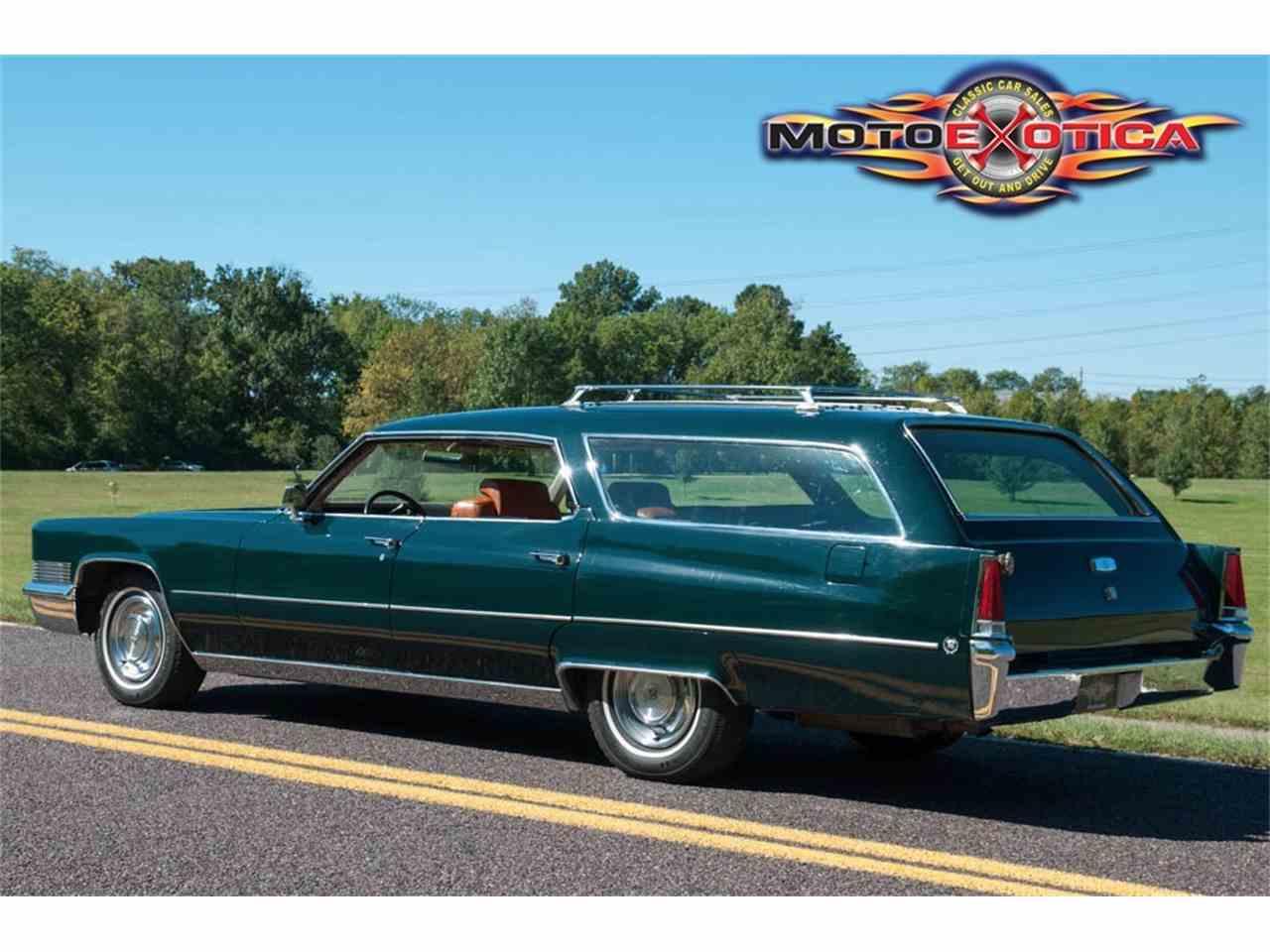 1969 Cadillac Deville Wagon For Sale Classiccars Com