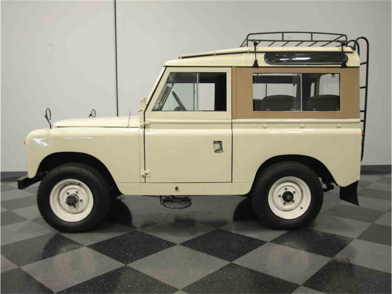 1968 land rover series iia defender 88 for sale. Black Bedroom Furniture Sets. Home Design Ideas