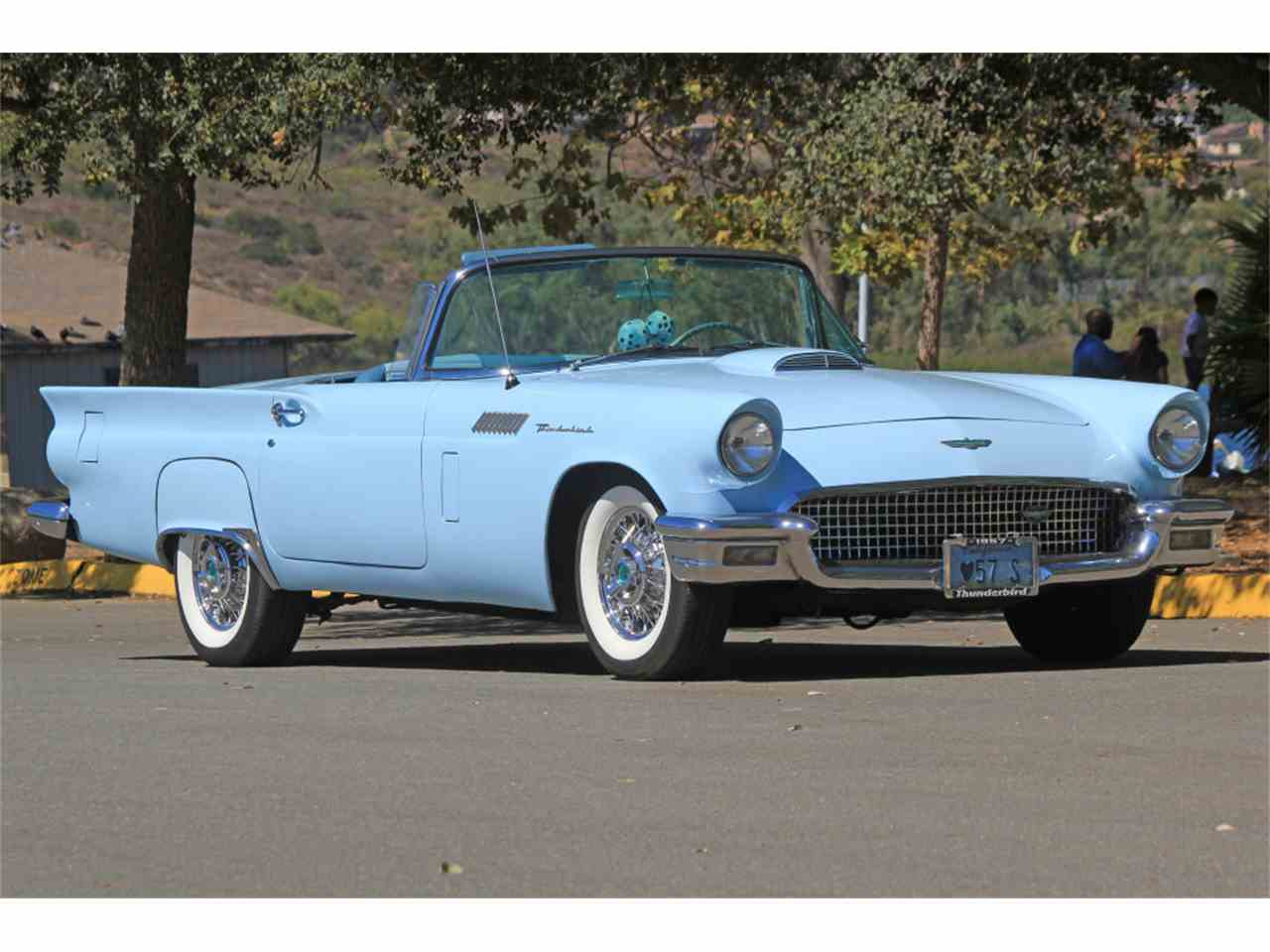 San Diego Ford Dealers >> 1957 Ford Thunderbird for Sale | ClassicCars.com | CC-908906