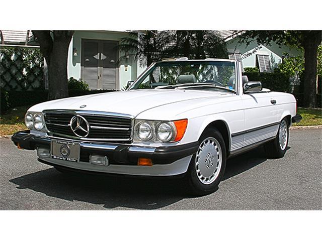 1988 Mercedes-Benz 560SL Convertible   909375