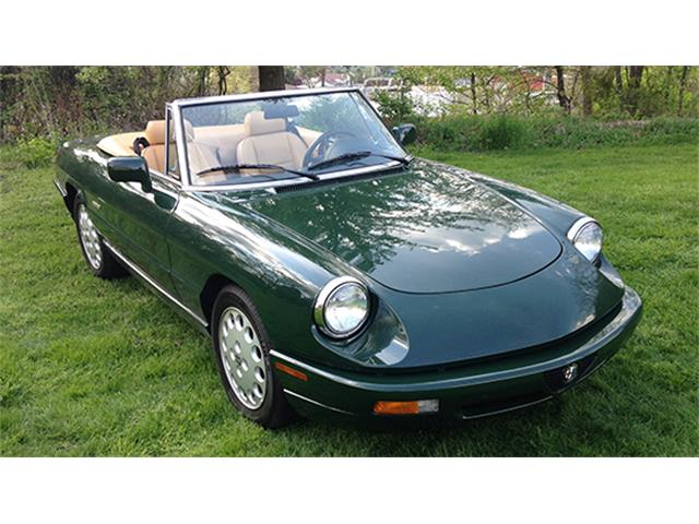 1992 Alfa Romeo 2000 Spider Veloce | 909386