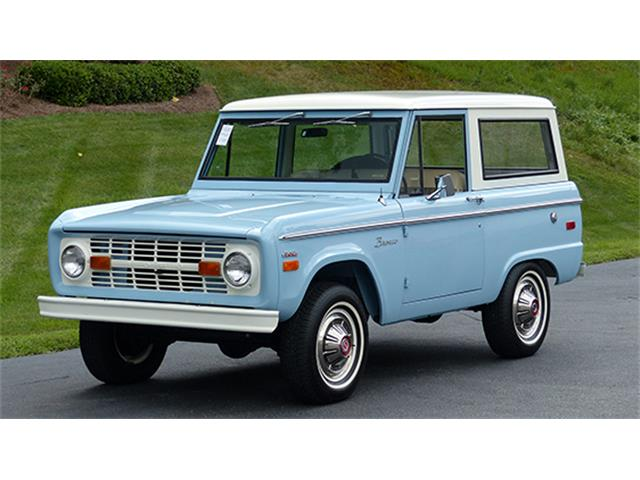 1970 Ford Bronco | 909387