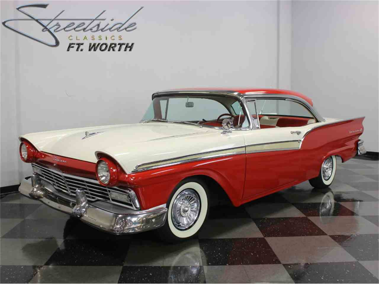 1957 ford fairlane 500 for sale cc 909418. Black Bedroom Furniture Sets. Home Design Ideas