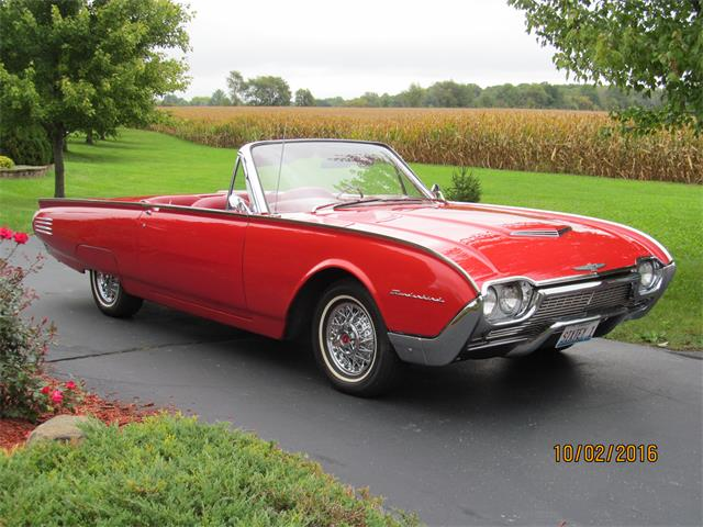 classifieds for 1961 ford thunderbird 18 available. Black Bedroom Furniture Sets. Home Design Ideas