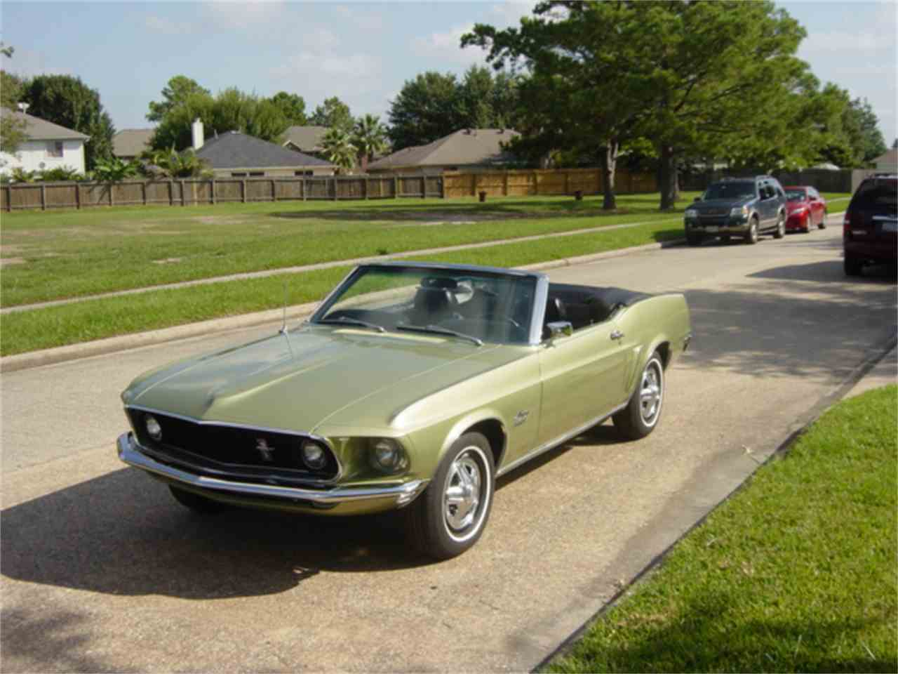 Classic Cars For Sale Houston Area: 1969 Ford Mustang For Sale