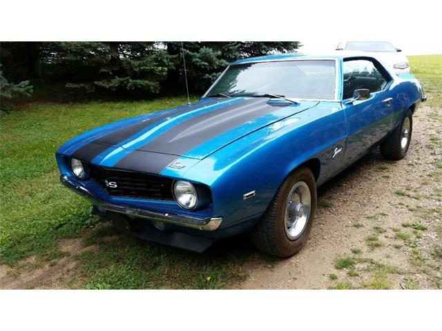 1969 CHEVROLET CAMARO 4 SPEED MANUAL | 909839