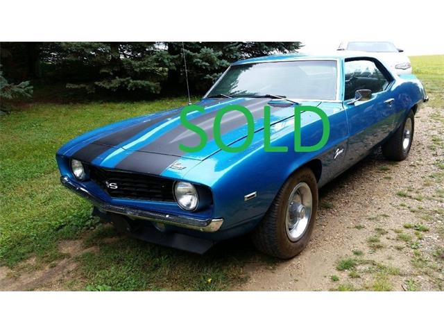 1969 CHEVROLET SOLD CAMARO 4 SPEED MANUAL | 909839