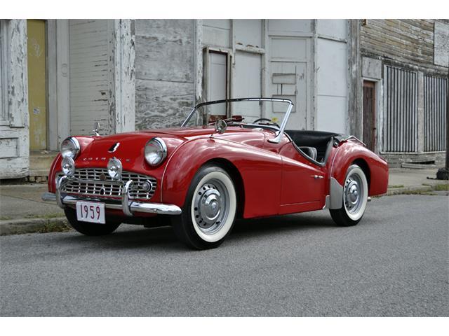 1959 Triumph TR3 | 909901
