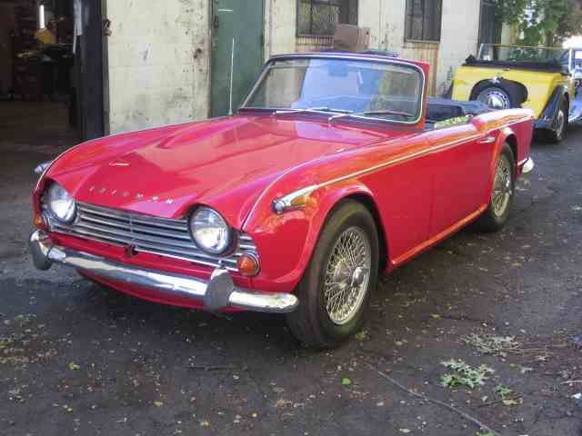 1967 to 1969 triumph tr4 for sale on classiccars - 3 available