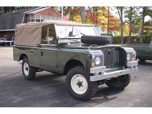1969 Land Rover Military Jeep | 911260