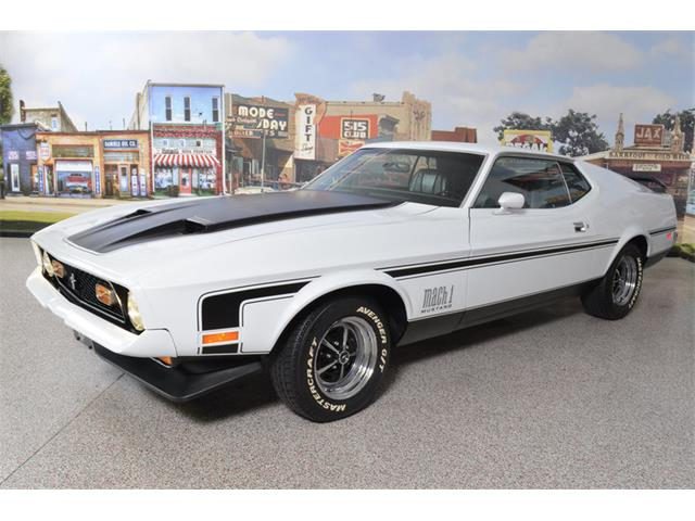 1972 Ford Mustang Mach 1 | 911290