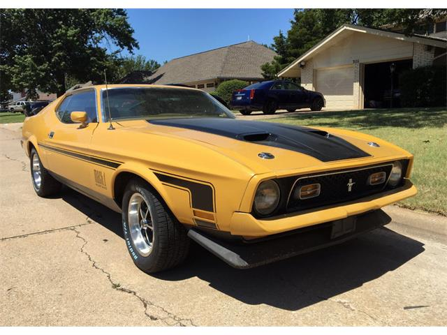 1971 Ford Mustang Mach 1 | 911353