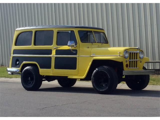 1959 Willys Jeep Wagon Custom | 911366