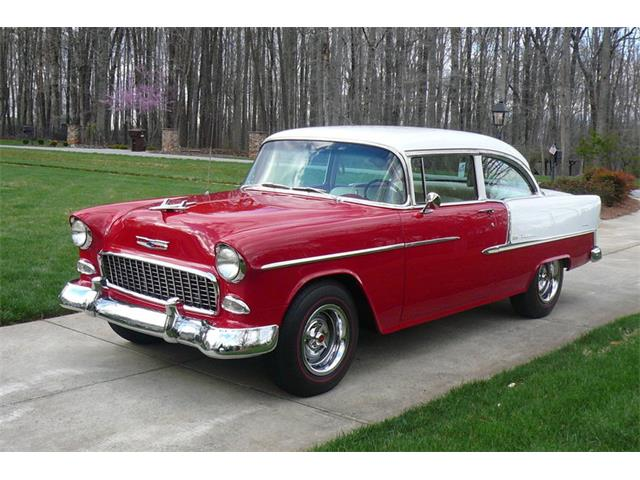 1955 Chevrolet Bel Air 210 Post | 910158