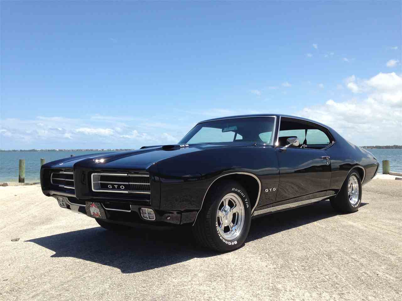 1969 pontiac gto for sale cc 911658. Black Bedroom Furniture Sets. Home Design Ideas