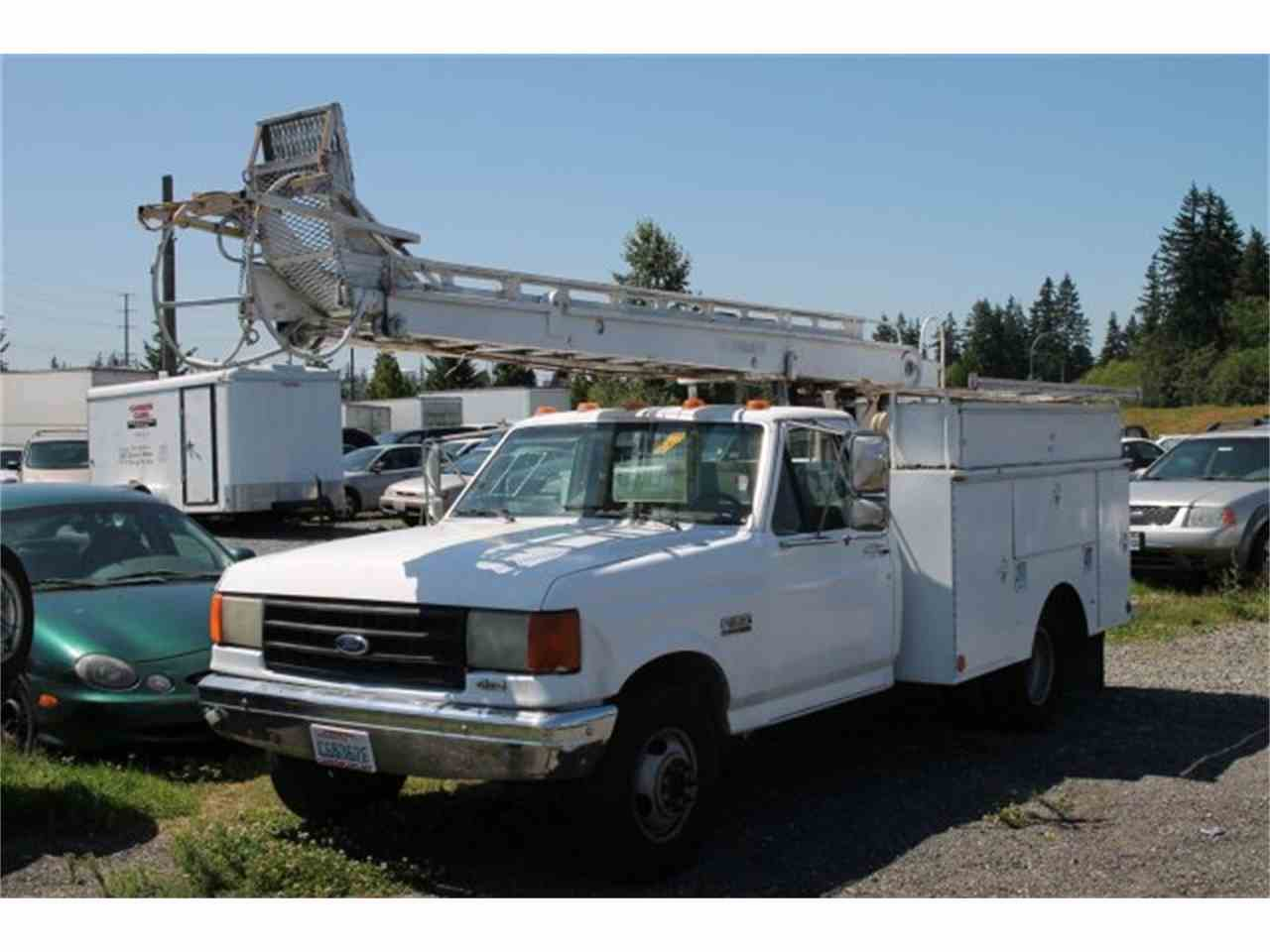 Large Picture of '87 F350 BOOM LIFT - JJGH