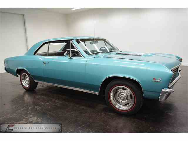 1967 CHEVROLET CHEVELLE TRUE SS BIG BLOCK 4 SPEED | 911980