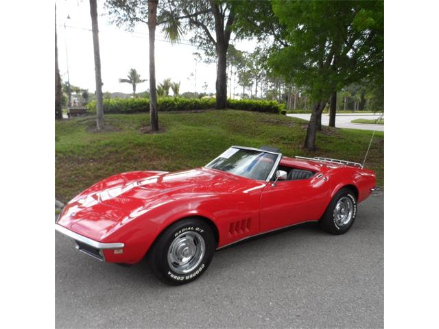 1968 Chevrolet Corvette 4 SPD Conv. | 912034