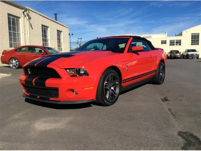 2010 Ford Mustang Shelby GT500 | 912066