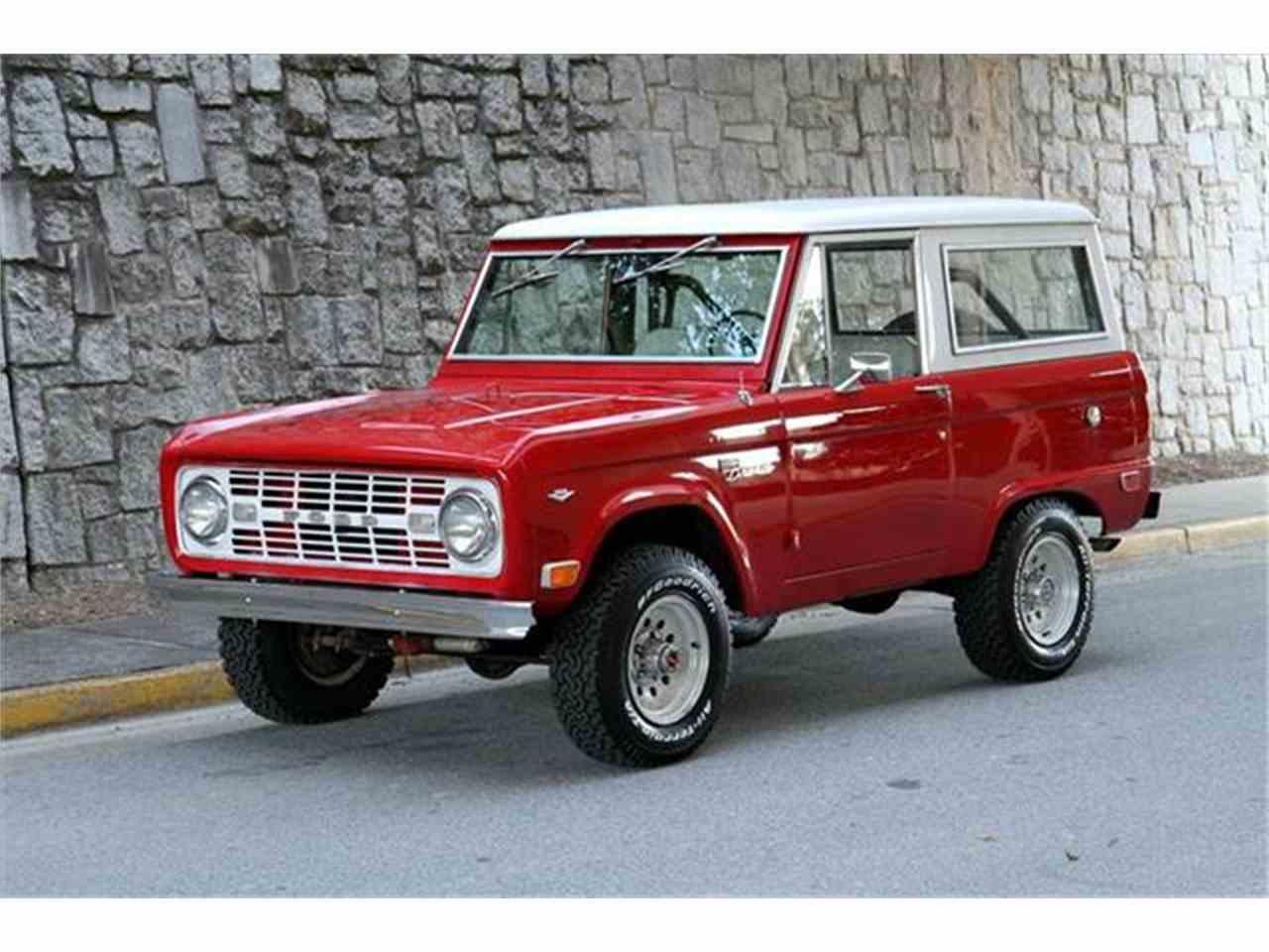 1968 ford bronco for sale cc 912133. Black Bedroom Furniture Sets. Home Design Ideas