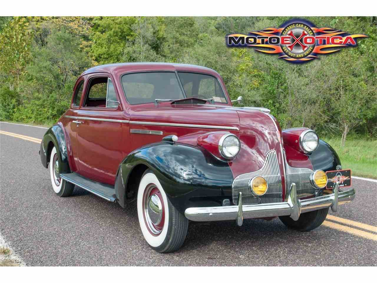 1939 buick special 2 door coupe for sale cc 912208. Black Bedroom Furniture Sets. Home Design Ideas
