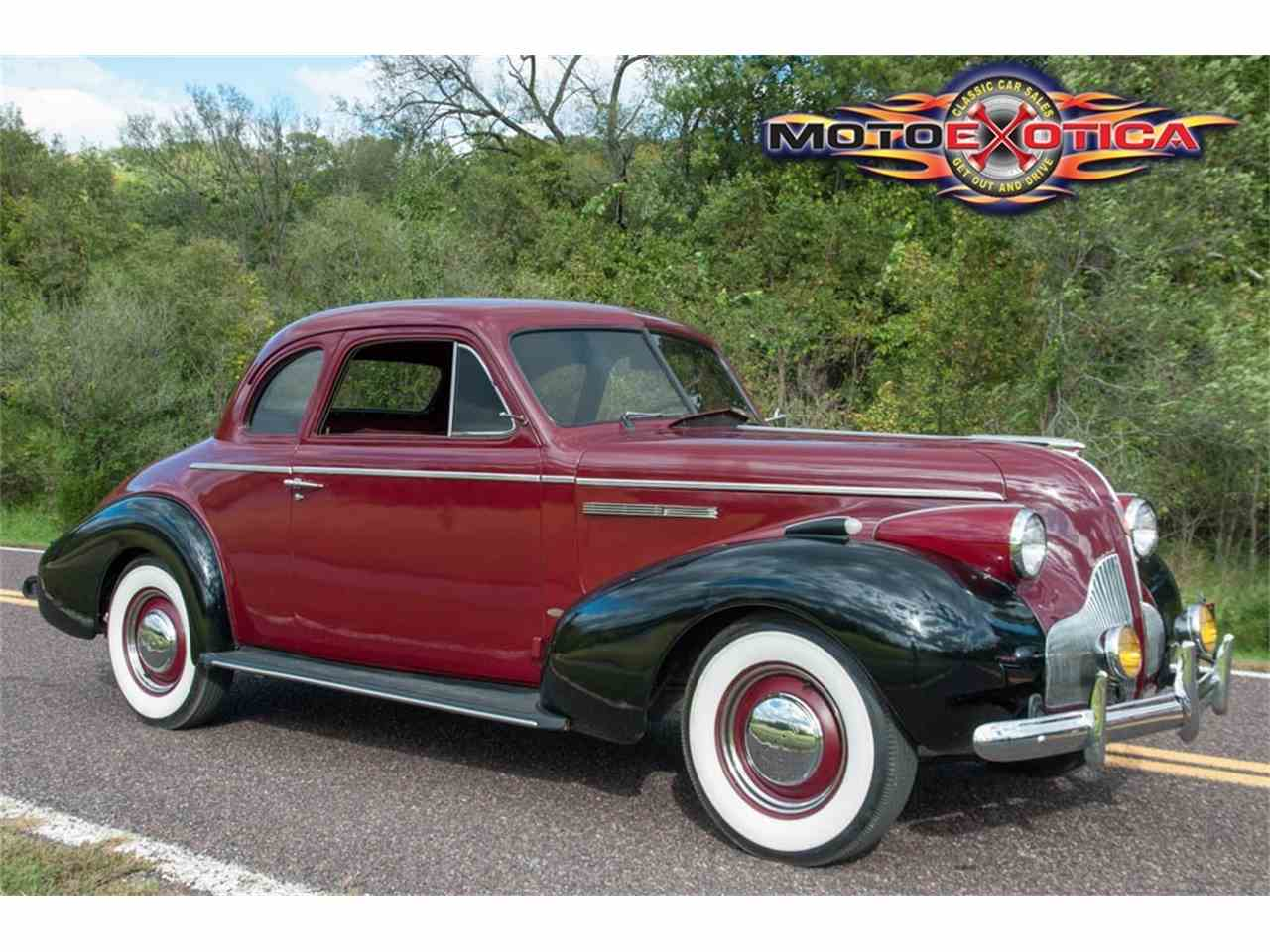 1939 Buick Special 2 Door Coupe for Sale | ClassicCars.com ...